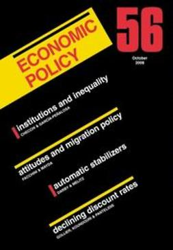 Menil, Georges De - Economic Policy 56, ebook