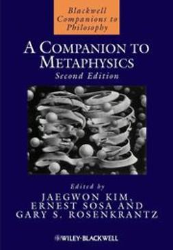 Kim, Jaegwon - A Companion to Metaphysics, ebook