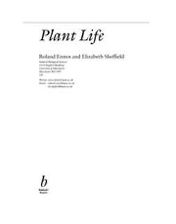 Ennos, Roland - Plant Life, e-kirja