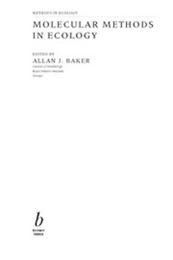 Baker, Allan - Molecular Methods in Ecology, e-kirja