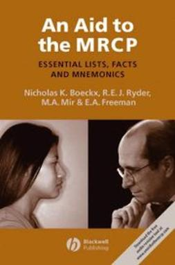 Boeckx, Nicholas K. - An Aid to the MRCP: Essential Lists, Facts and Mnemonics, ebook