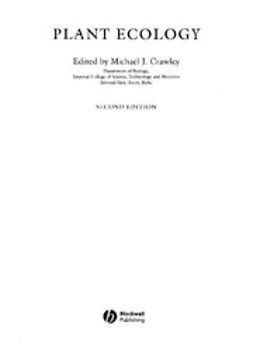 Crawley, Mick - Plant Ecology, ebook