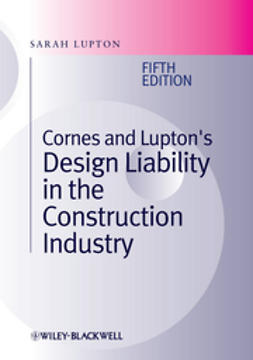 Lupton, Sarah - Cornes and Lupton's Design Liability in the Construction Industry, ebook