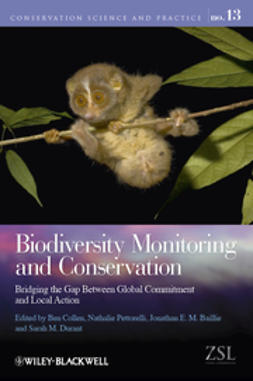 Collen, Ben - Biodiversity Monitoring and Conservation: Bridging the Gap Between Global Commitment and Local Action, ebook