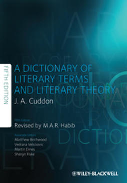 Cuddon, J. A. - Dictionary of Literary Terms and Literary Theory, ebook