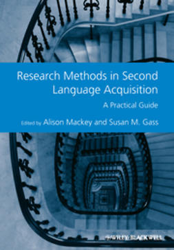 Mackey, Alison - Research Methods in Second Language Acquisition: A Practical Guide, ebook