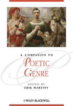 Martiny, Erik - A Companion to Poetic Genre, ebook