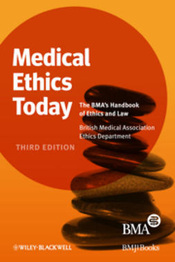 UNKNOWN - Medical Ethics Today: The BMA's Handbook of Ethics and Law, ebook