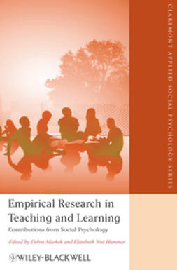 Hammer, Elizabeth Yost - Empirical Research in Teaching and Learning: Contributions from Social Psychology, ebook