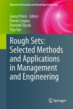 Peters, Georg - Rough Sets: Selected Methods and Applications in Management and Engineering, ebook