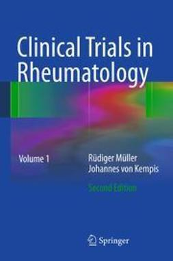 Mueller, Ruediger - Clinical Trials in Rheumatology, ebook