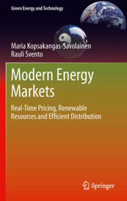 Kopsakangas-Savolainen, Maria - Modern Energy Markets, ebook