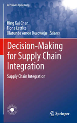 Chan, Hing Kai - Decision-Making for Supply Chain Integration, ebook