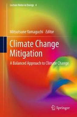 Yamaguchi, Mitsutsune - Climate Change Mitigation, ebook
