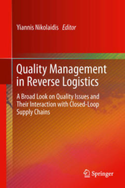 Nikolaidis, Yiannis - Quality Management in Reverse Logistics, ebook