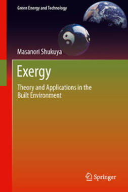 Shukuya, Masanori - Exergy, ebook