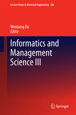 Du, Wenjiang - Informatics and Management Science III, ebook