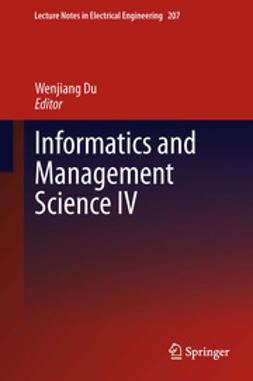 Du, Wenjiang - Informatics and Management Science IV, e-kirja