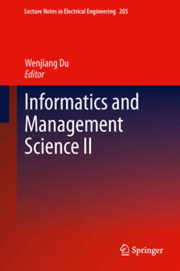 Du, Wenjiang - Informatics and Management Science II, ebook