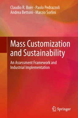 Boër, Claudio R. - Mass Customization and Sustainability, ebook