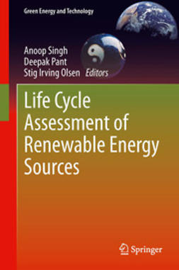 Singh, Anoop - Life Cycle Assessment of Renewable Energy Sources, ebook