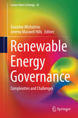 Michalena, Evanthie - Renewable Energy Governance, ebook