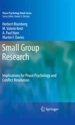 Blumberg, Herbert - Small Group Research, ebook