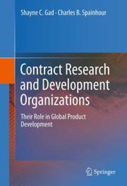 Gad, Shayne C. - Contract Research and Development Organizations, ebook