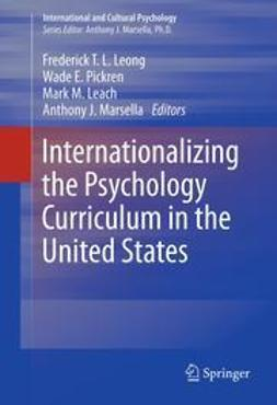 Leong, Frederick T.L. - Internationalizing the Psychology Curriculum in the United States, ebook