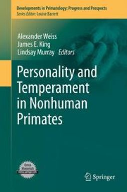 Weiss, Alexander - Personality and Temperament in Nonhuman Primates, e-bok