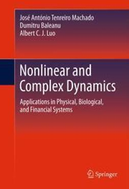 Machado, José António Tenreiro - Nonlinear and Complex Dynamics, ebook