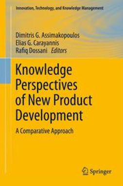 Assimakopoulos, Dimitris G. - Knowledge Perspectives of New Product Development, e-bok
