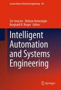Ao, Sio-Iong - Intelligent Automation and Systems Engineering, ebook