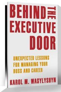 Wasylyshyn, Karol M. - Behind the Executive Door, ebook