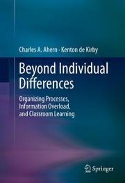 Ahern, Charles A. - Beyond Individual Differences, ebook