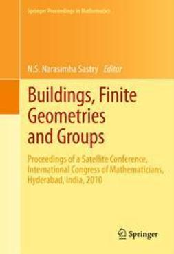 Sastry, N.S. Narasimha - Buildings, Finite Geometries and Groups, e-bok
