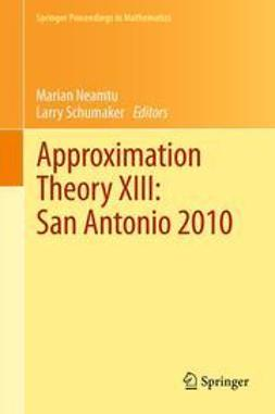 Neamtu, Marian - Approximation Theory XIII: San Antonio 2010, ebook