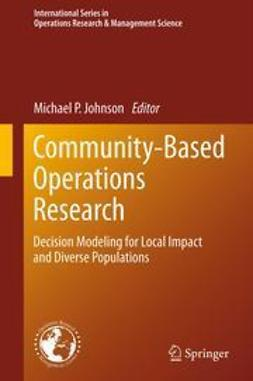 Johnson, Michael P. - Community-Based Operations Research, ebook