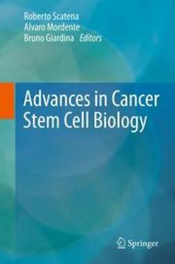 Scatena, Roberto - Advances in Cancer Stem Cell Biology, ebook