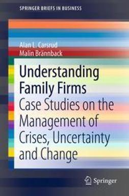 Carsrud, Alan L. - Understanding Family Firms, ebook