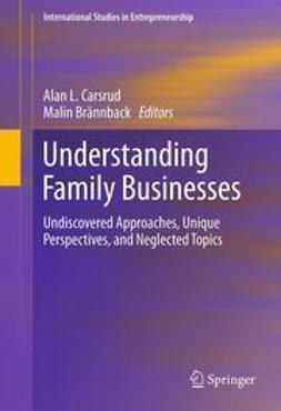 CARSRUD, ALAN - Understanding Family Businesses, ebook