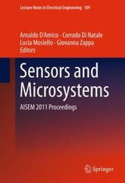 D'Amico, Arnaldo - Sensors and Microsystems, ebook