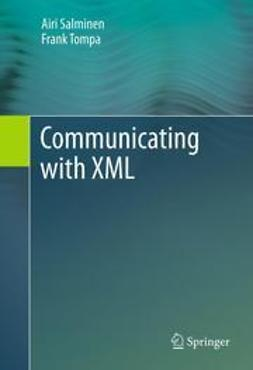 Salminen, Airi - Communicating with XML, ebook