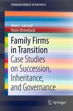 Carsrud, Alan L. - Family Firms in Transition, ebook