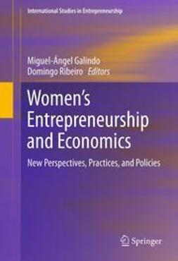 Galindo, Miguel-Angel - Women's Entrepreneurship and Economics, e-bok