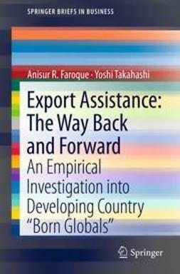 Faroque, Anisur R. - Export Assistance: The Way Back and Forward, ebook