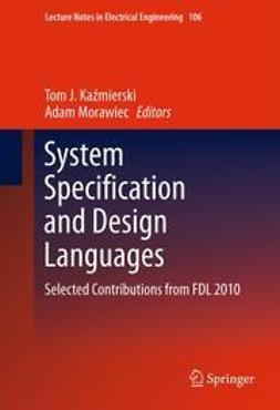 Kaźmierski, Tom J. - System Specification and Design Languages, e-kirja