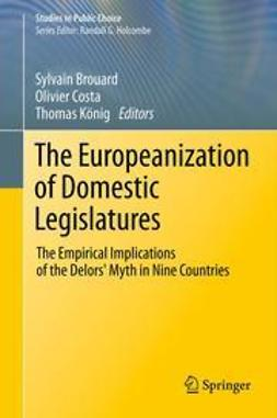 Brouard, Sylvain - The Europeanization of Domestic Legislatures, ebook