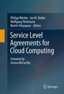 Wieder, Philipp - Service Level Agreements for Cloud Computing, e-bok