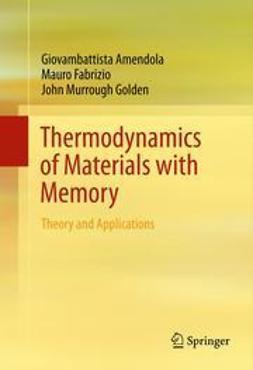 Amendola, Giovambattista - Thermodynamics of Materials with Memory, ebook